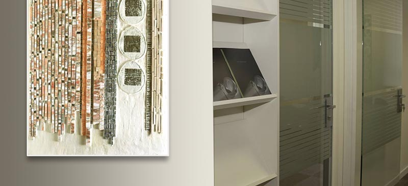 Precious Walls / Pareti Preziose by carla Daturi - Banca Intesa Fideuram