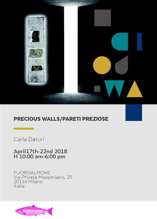 Precious Walls | invito | Fuorisalmone 2018