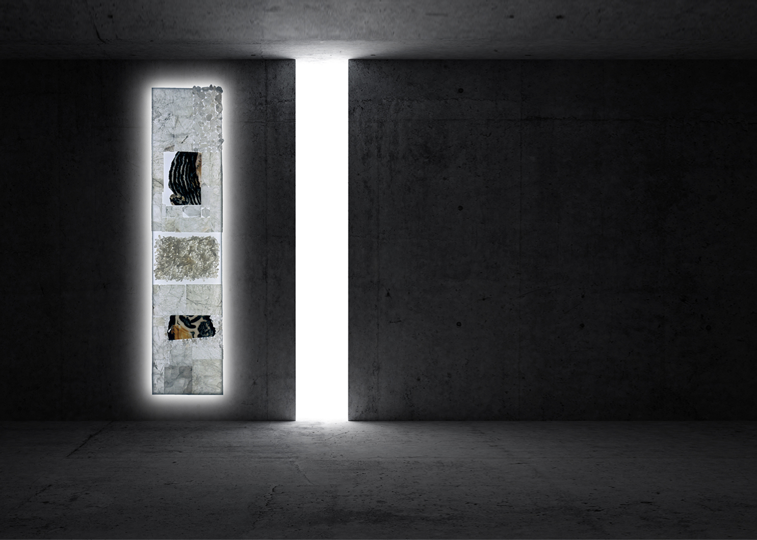 Precious Walls / Pareti Preziose by Carla Daturi - Composizione 48